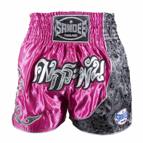 Sandee Kids Unbreakable Muay Thai Shorts - Pink
